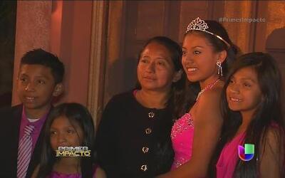 Elena Márquez cumplió su sueño de cuento de hadas