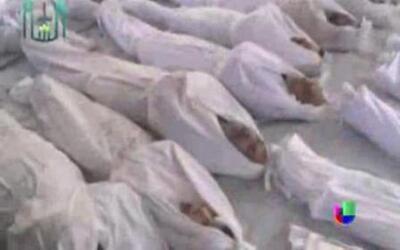 Obama: Siria sí usó armas químicas, debe haber consecuencias