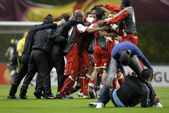 Braga hizo historia, un equipo sorpresa se metió a la Final de la LIga E...
