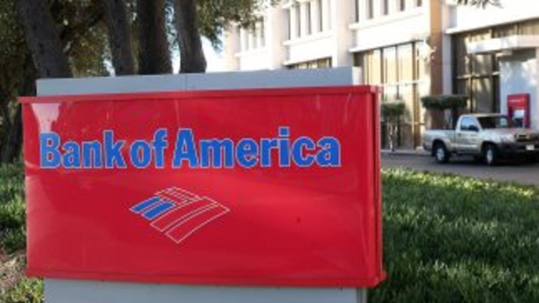 El Bank of America se vio afectado por una pesada carga debida a una mu...