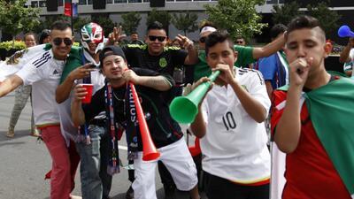 La afición mexicana se hace sentir en Charlotte