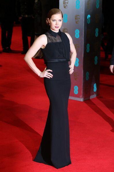 De las más glamourosas de esta 'red carpet' del BAFTA 2014 fue Amy Adams...