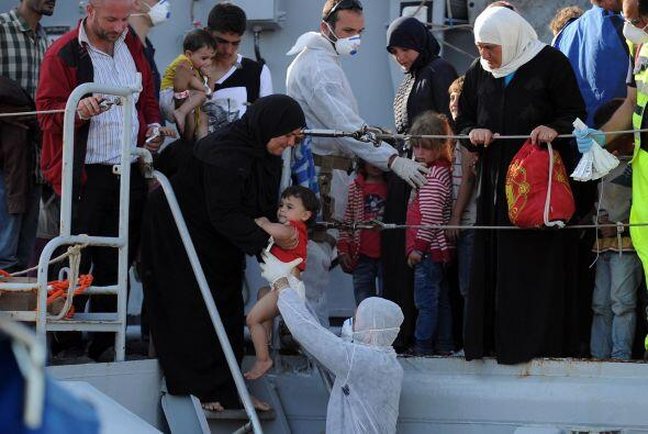 En los últimos ocho meses autoridades italianas han rescatado m&a...