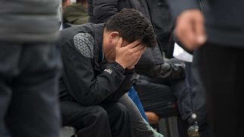 Los familiares de las víctimas se encuentran entre el dolor y la desespe...