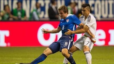 Jordan Morris se convirtió en el jugador del partido entre Estados Unido...