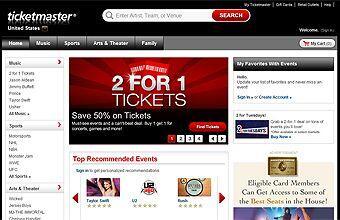 TICKETMASTER | La empresa de venta de boletos Ticketmaster basada en Bev...