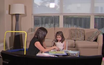 Los padres de una niña con síndrome de down piden que su hija pueda asis...