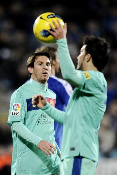 Las caras en los jugadores del Barcelona lo dicen todo.