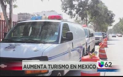 Aumenta turismo en México