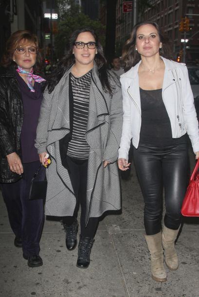 Y así fue como vimos reunidas a tres de las actrices más i...