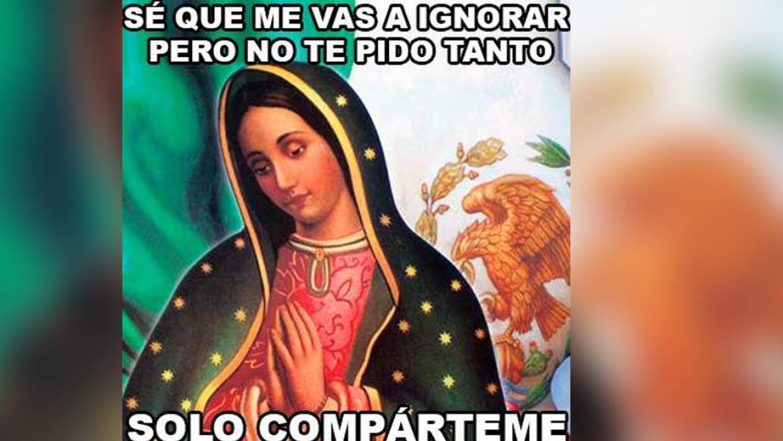 Imagen de la Virgen de Guadalupe sería la más viral en Facebook ...
