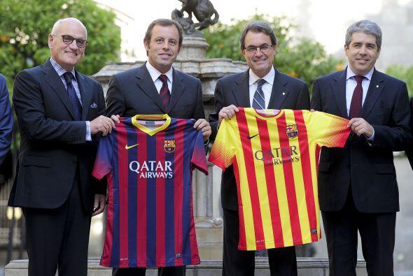 Con estos colores veremos al Barcelona.
