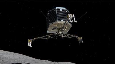 Philae agota sus baterías, pero logra enviar valiosos datos