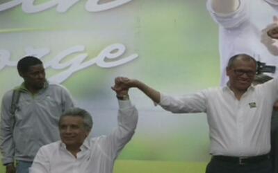 Se hacen oficiales los nombres de los candidatos a presidente en Ecuador