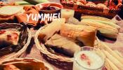 Tamales y maíz