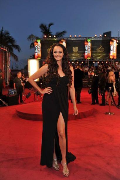 Shayla Durcal, siempre sensual y elegante.