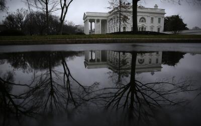 La Casa Blanca, en Washington DC, el pasado domingo 22 de enero.