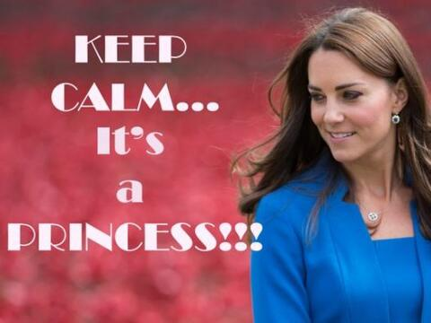 """Su Alteza Real la Duquesa Catalina de Cambridge dio a luz a su hija a l..."