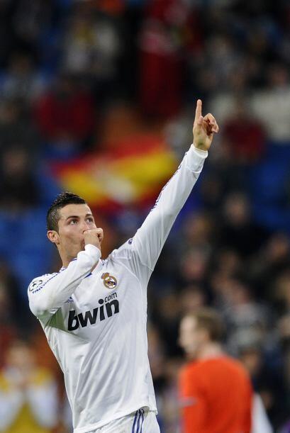 En la segunda parte, llegó el gol de Cristiano Ronaldo.