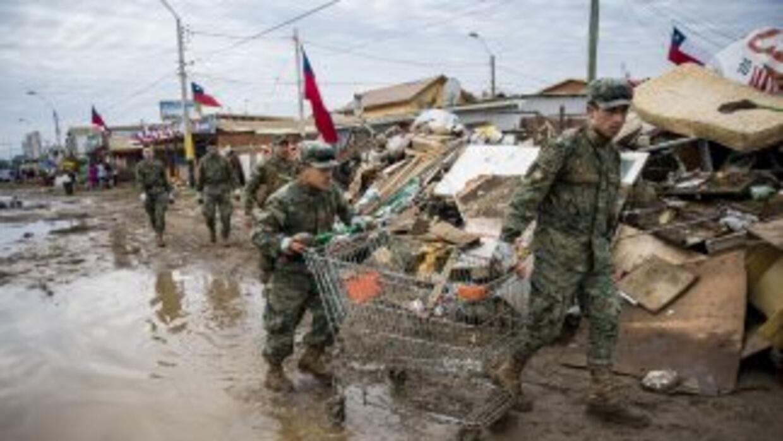 Coquimbo, una de las zonas más afectadas por el sismo del pasado miércoles.