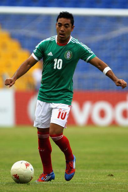 Y por si faltaba un detalle más, apareció el hombre gol mexicano, Marco...