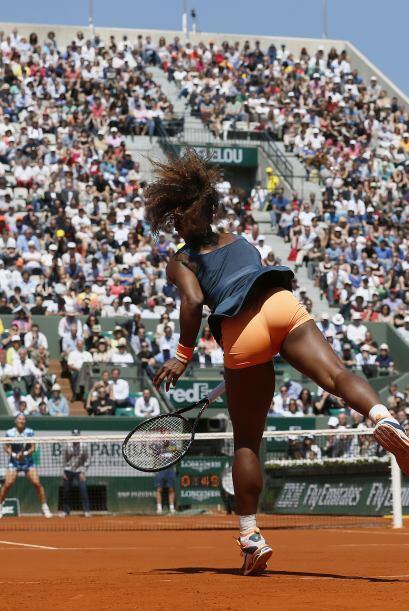 En el definitivo, el juego de Serena siguió sin encontrar la eficacia. L...
