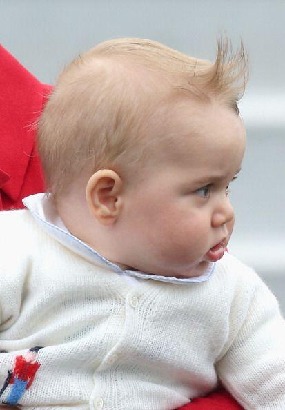 """Dice que tiene la apariencia """"de un joven Winston Churchill""""."""