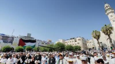 La Basílica de la Natividad de Belén, situada en Cisjordania, entró en e...