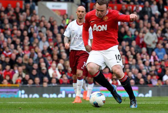 Pero quien volvió a marcar fue Wayne Rooney.
