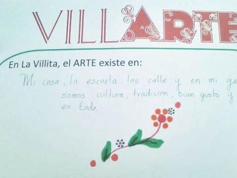 VILLLARTE es un colectivo de artistas y voluntarios que buscan transform...