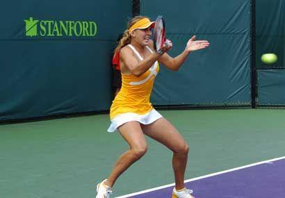 Esta jovencita es considerada la sucesora de Sharapova. Habrá que...