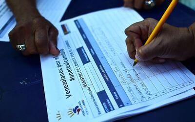 Conozca cuales son los pasos para activar el referéndum revocatorio en V...