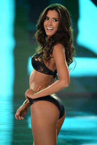 En el certamen de Señorita Colombia, era una de las favoritas par...
