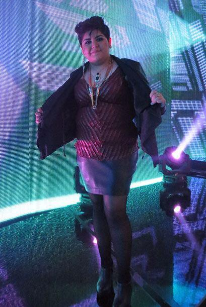Stephanie estrenó este look durante la novela gala de Va Por Ti.