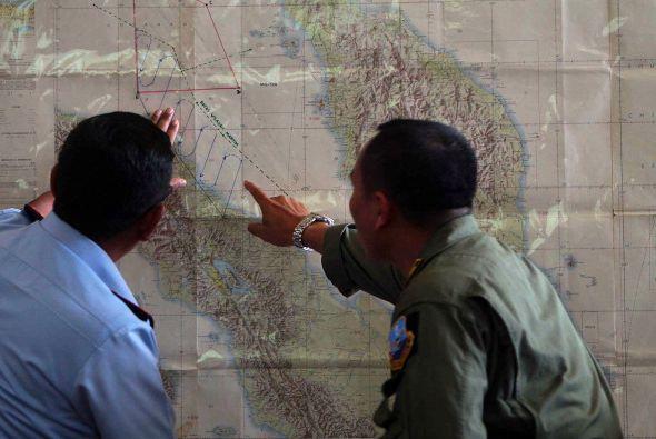 Para el miércoles 12 de marzo la búsqueda del avión...