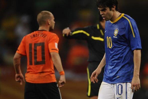 En Sudáfrica lloró Brasil, su derrota por 2-1 ante Holanda...