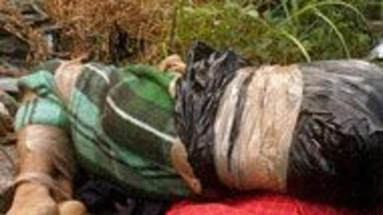 Hallaron en Monterrey, cinco cadáveres, uno de ellos decapitados 783e281...