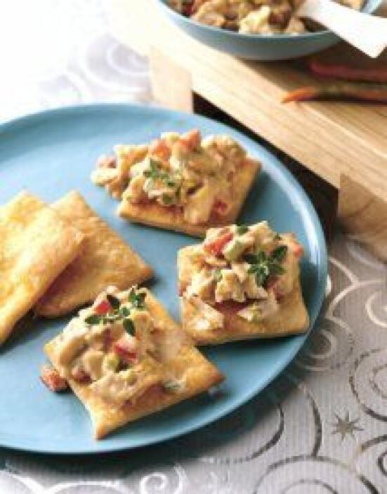 Botanas de ensalada de pollo con cacahuate (Thai) - ¿Creías que la masa...