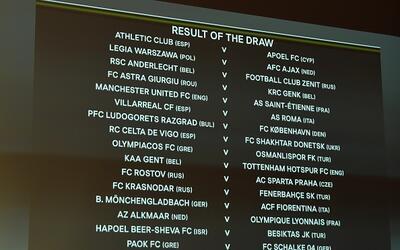Everton, Nápoles, Inter, Tottenham, Feyenoord y Dinamo Kiev, clasificado...