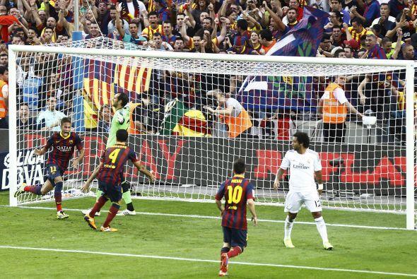 Reaccionó tarde el portero del Real Madrid y el Barcelona tomó ventaja e...