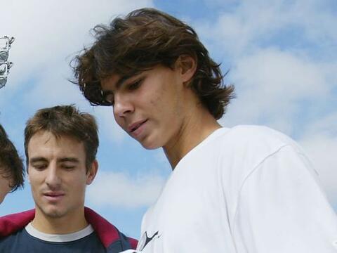 01.- Con quince primaveras, Nadal se convirtió en el jugador m&aa...