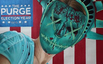 Dibujando 'The Purge: Election Year'
