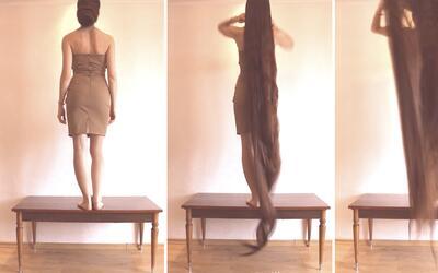 #BreakViral: La interminable cabellera de esta mujer te hará preguntarte...