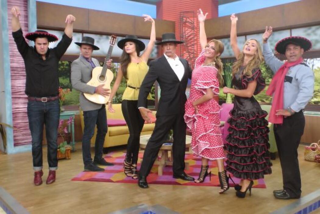 Al final, todos demostraron que el flamenco corre por sus venas. ¡Lucier...