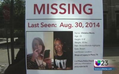 Christina Morris sigue extraviada