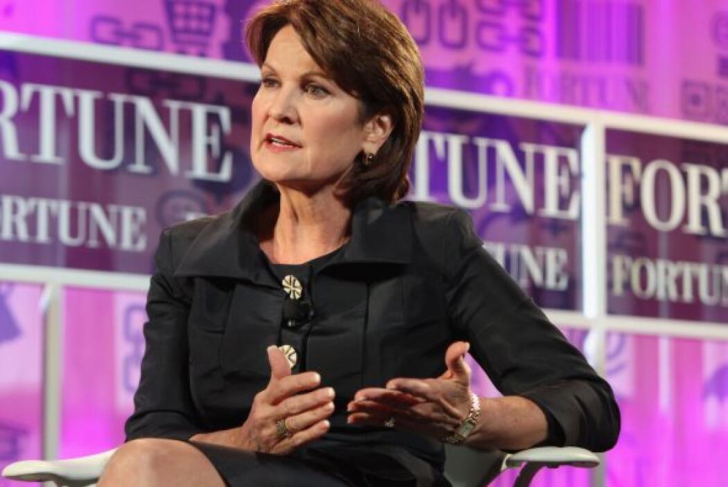 7. Marillyn Hewson.  La Presidente y CEO de Lockheed Martin tiene la sép...