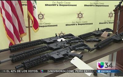Decomisan fusiles de asalto AR-15 destinados a 'El Mencho'