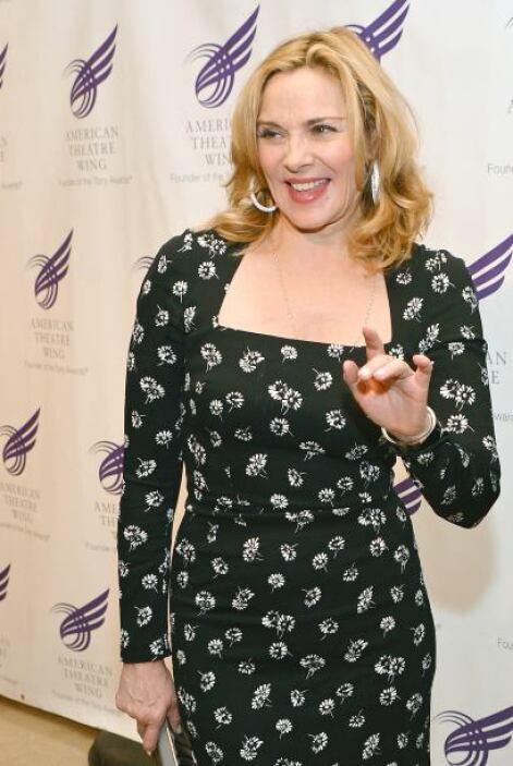 """Kim Cattrall  La co protagonista de """"Sex and The City"""" se considera una..."""