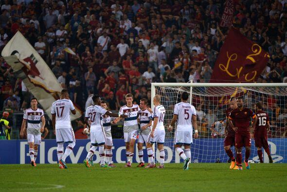 Las mejores imágenes de la tercera fecha de la Liga de Campeones...