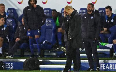 Guardiola es venerado en Inglaterra aunque ahora está en crisis.